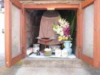 お地蔵さん 2012/05/27